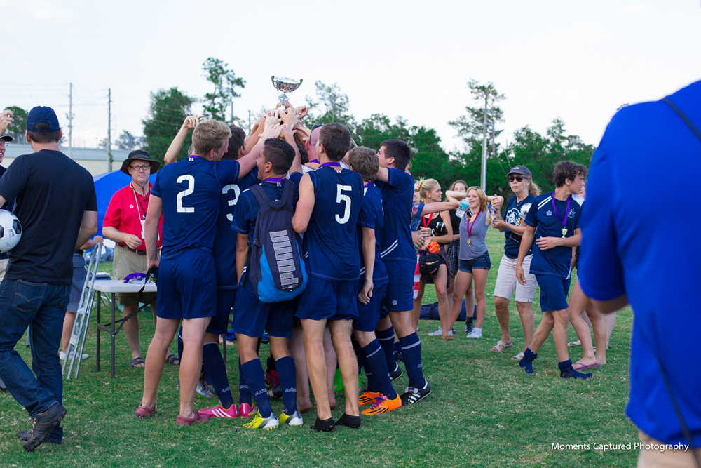 Local High School Soccer Champions – Advertising Success!