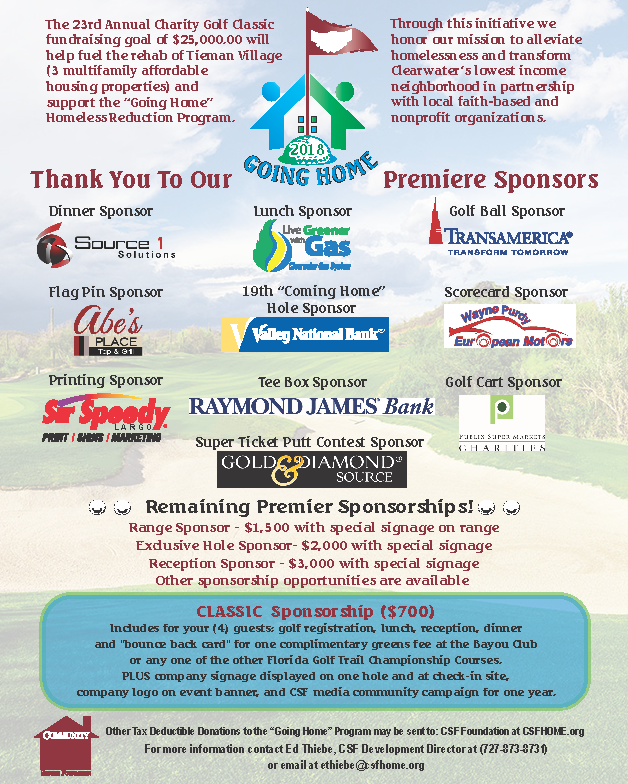 The 23rd Annual Charity Golf Classic