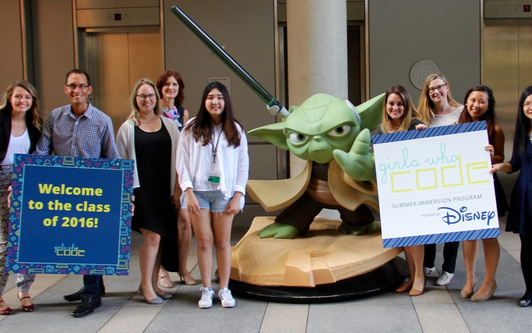 Disney Imagineering And Girls Who Code