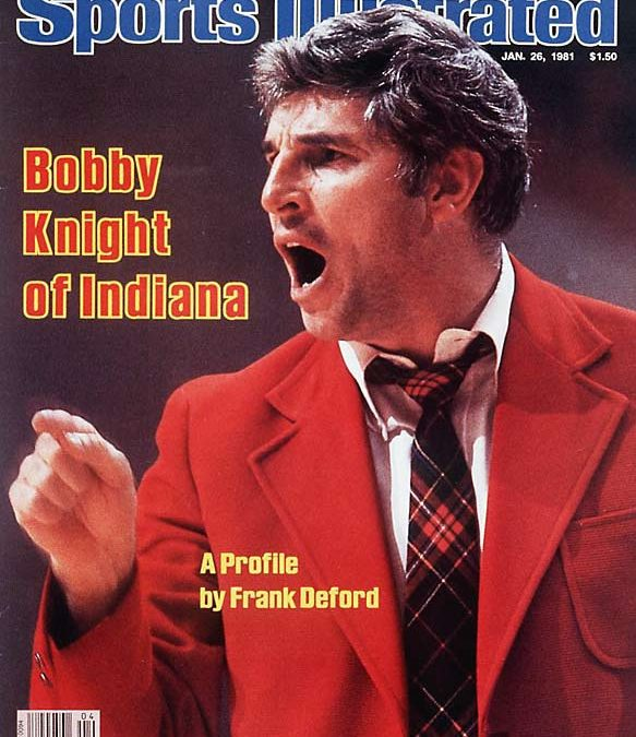 Bobby Knight and College Basketball – A True Hoops Marketing Ambassador Legend
