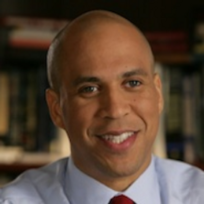 cory booker, twitter, buzzazz article, paul grimsley