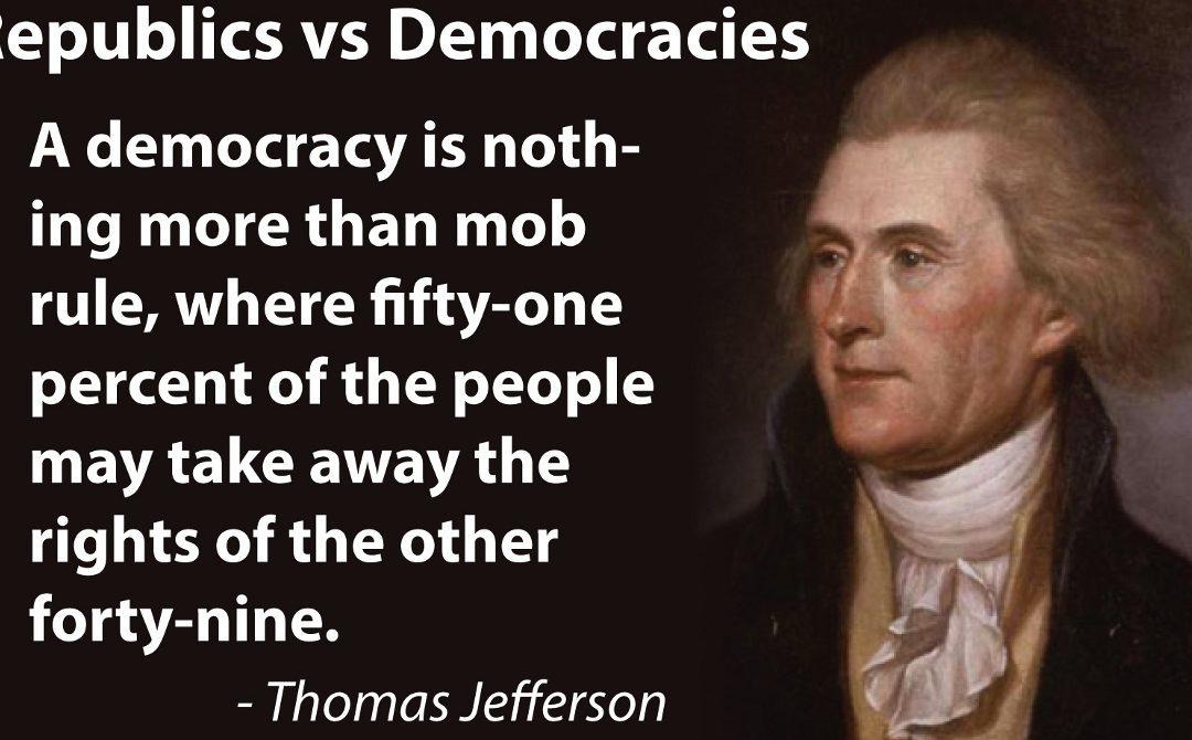 Donald Trump, Jefferson and the Libertarian