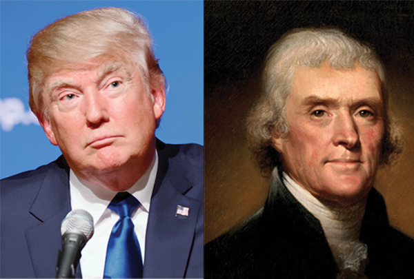 Trump Gets Jefferson's Vote